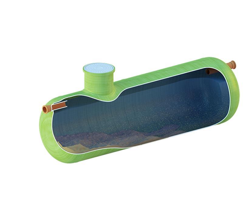 Емкость для аккумулирования дождевых стоков Qubo-Tank из стеклопластика, полипропилена - звоните +7 (499) 397 77 80