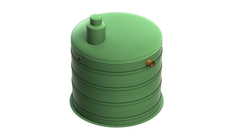 Пожарная емкость (противопожарная емкость) из стеклопластика, полипропилена - звоните +7 (499) 397 77 80