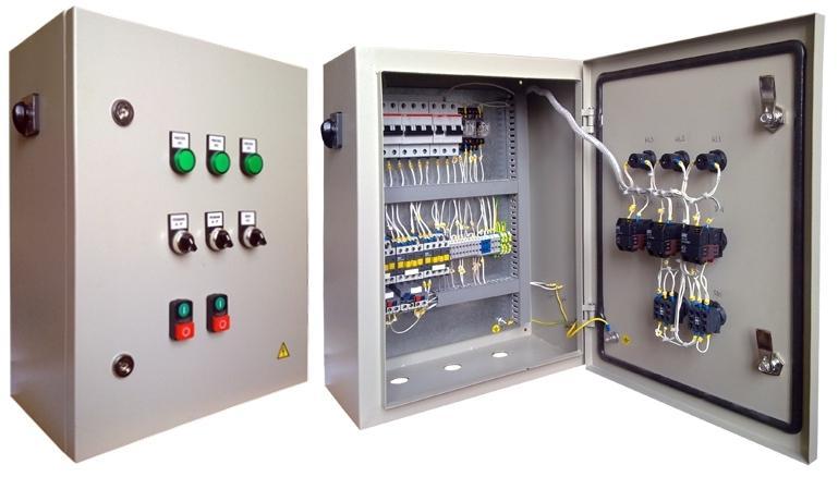 Шкаф управления насосной станцией повышенного давления - звоните +7 (499) 397 77 80